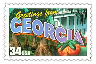 Official Georgia state stamp.