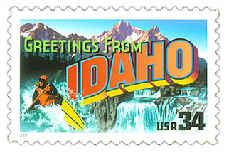 Official Idaho state stamp.