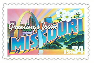 Official Missouri state stamp.