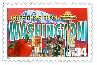 Official Washington state stamp.
